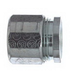 Steel City EK-409 Coupling; 3-1/2 Inch, Malleable Iron, 3-Piece, Threaded