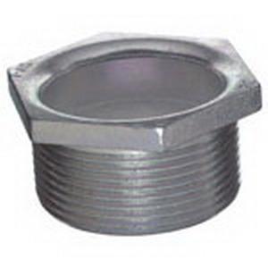 Steel City HA-406 Hex Head Conduit Chase Nipple; 2 Inch, MNPT, Malleable Iron