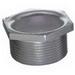 Steel City HA-410 Hex Head Conduit Chase Nipple; 4 Inch, MNPT, Iron