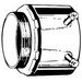 Steel City HC-102 Conduit Set Screw Connector; 3/4 Inch, Set-Screw, Steel