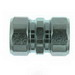 Steel City HK-409 Conduit Coupling; 3-1/2 Inch, Threadless Compression, Malleable Iron