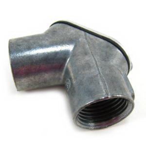 Steel City HL-601 90 Degree Pull Corner Elbow; 1/2 Inch, Die-Cast Zinc, FNPT