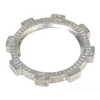 Steel City LN-107 Locknut; 2-1/2 Inch, Threaded, Steel