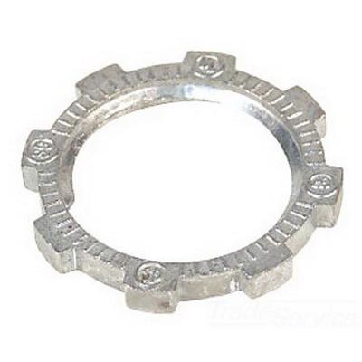Steel City LN-109 Locknut; 3-1/2 Inch, Threaded, Steel