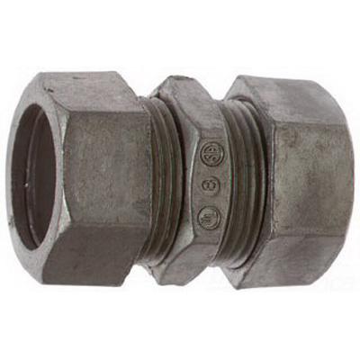 Steel City TK-212-SC Compression Coupling; 3/4 Inch, Die-Cast Zinc