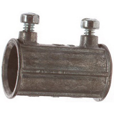 Steel City TK-221-SC Set Screw Coupling; 1/2 Inch, Die-Cast Zinc