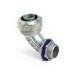 Steel City LT-292 90 Degree Liquidtight Flexible Conduit Connector; 3/4 Inch, Die-Cast Zinc, Threaded