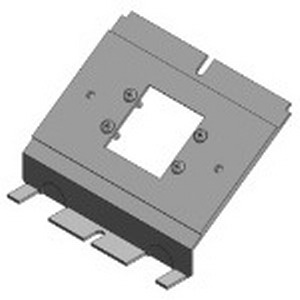 Steel City 664-2MAAP Extron MAAP Device Panel; Steel