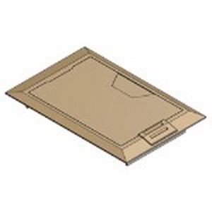 Steel City 664-CST-SW-BRS MopTite™ Floor Box Cover; Brass