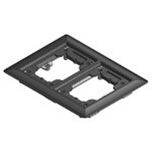 Steel City 642-P-CAC-BLK 2-Gang Carpet Flange Activation Kit; Non-Metallic, Black