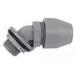 Steel City LT-542 Liquidtight Flexible 45 Degree Connector; 3/4 Inch, Nylon, Threaded