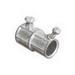 Steel City TX-220 Combination Set Screw Coupling; 1/2 Inch EMT x 3/8 Inch Flex, Die-Cast Zinc