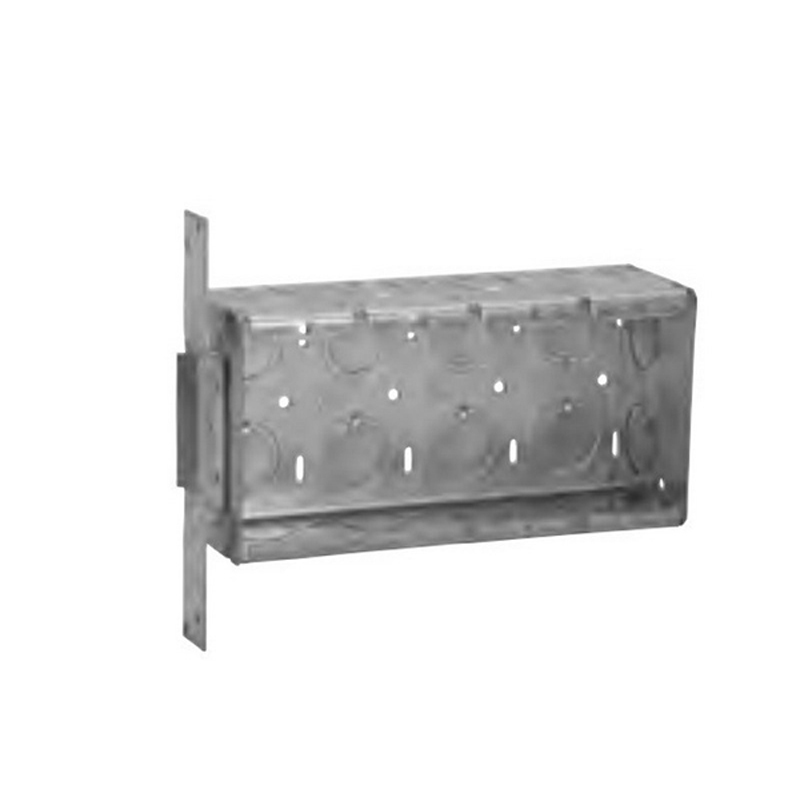 """""""""""Thepitt TP638 4-Gang Switch Box 2-1/2 Inch Depth, Steel, 62 Cubic-Inch,"""""""""""" 104649"""