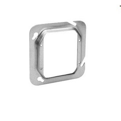 Thepitt TP593 2-Device Raised 4-11/16 Inch Square Box Raised Cover; Steel, 14 Cubic-Inch, 1-1/4 Inch Depth