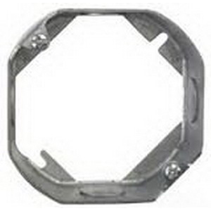 Thepitt TP284 Octagon Extension Ring; Steel, 1-1/2 Inch Depth, 4-Knockouts