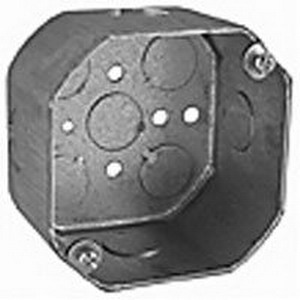 Thepitt TP288 Octagon Outlet Box 2-1/8 Inch Depth  Steel