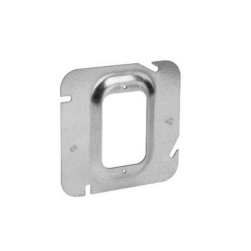 Thepitt TP531 1-Device Raised 4-11/16 Inch Square Box Raised Cover; Steel, 15 Cubic-Inch, 2 Inch Depth