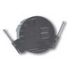 Thepitt TP16200 Round Ceiling Box; 2-1/8 Inch Depth, PVC, 16 Cubic-Inch, Black
