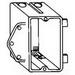 Thepitt TP2030 1-Gang Switch Box; 3-3/16 Inch Depth, PVC, 20.3 Cubic-Inch, Gray
