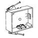 Thepitt TP1900 1-Gang Switch Box; 1-5/8 Inch Depth, PVC, 20.3 Cubic-Inch, Gray