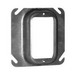 Thepitt TP490 1-Device Raised Square Mud-Ring; 4 Inch Width x 1-1/4 Inch Depth x 4 Inch Height, Steel, 8.8 Cubic-Inch