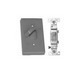 Thepitt TP7260 Single Pole Switch 1-Gang Weatherproof Device Box Cover; Die-Cast Aluminum