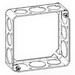Thepitt TP428 Square Extension Ring; Steel, 1-1/2 Inch Depth, 21 Cubic-Inch, 12-Knockouts