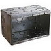Thepitt TP692 3-Gang Masonry Box; Steel, 66.5 Cubic-Inch, Natural