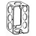 Thepitt TP600 Extension Ring; Drawn Steel, 1-7/8 Inch Depth, 13 Cubic-Inch, 8-Knockouts