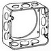 Thepitt TP564 Square Extension Ring; Steel, 2-1/8 Inch Depth, 42 Cubic-Inch, 12-Knockouts