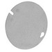Thepitt TP323 Blank Flat Round Box Cover; Steel