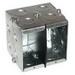 Thepitt TP687 6-Gang Masonry Box; 2-1/2 Inch Depth, Steel, 93 Cubic-Inch, Natural
