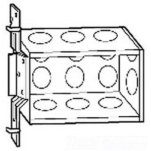 """""""""""Thepitt TP632 3-Gang Switch Box 2-1/2 Inch Depth, Steel, 46.5 Cubic-Inch, Natural,"""""""""""" 687159"""