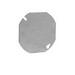 Thepitt TP322 Blank Flat Octagonal Box Cover; Steel
