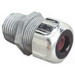 Thomas & Betts 2545 Liquidtight Strain Relief Cord Connector; 1 Inch Threaded, 0.625 - 0.750 Inch, Die-Cast Zinc