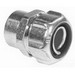 Thomas & Betts 5272 Straight Liquidtight Conduit Female Hub Adapter With Insulated Throat; 1/2 Inch, Steel, Electro-Plated Zinc/Chromate Coated