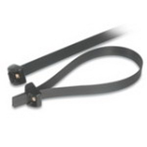 Thomas & Betts TYD5270M Deltec Weather Resistant Locking Cable Tie 8 Inch Bundle Dia  27 Inch Length  Acetel  Black