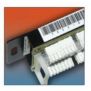 Thomas & Betts EZ-WN34 E-Z_Code® Wire Marker Label; 12.5 ft Length x 3/4 Inch Width, Flexible Nylon, White