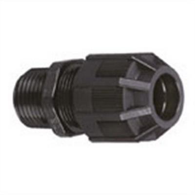 Thomas & Betts 2921NM Ranger® Liquidtight Strain Relief Connector; 1/2 Inch Threaded, 0.310 - 0.560 Inch, Nylon