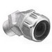 Thomas & Betts 2201 45 Degree Liquidtight Strain Relief Cord Connector; 1/2 Inch Threaded, 0.250 - 0.375 Inch, Malleable Iron