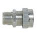 Thomas & Betts 2932AL Ranger® Liquidtight Strain Relief Connector; 3/4 Inch Threaded, 0.500 - 0.750 Inch, Aluminum