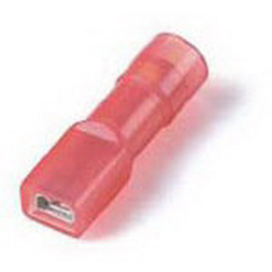 Thomas & Betts KNF18-250FD-M Spec-Kon® Nylon Fully Insulated 250 Series Female Disconnector; 22-16 AWG, 600 Volt, Red, 1000/Box