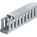 Thomas & Betts TY1X2WPG6 Wide Slot Wiring Duct; 6 ft x 1 Inch x 2 Inch, Rigid PVC, Gray