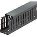 Thomas & Betts TY3X3NPB6 Narrow Slot Wiring Duct; 6 ft x 3 Inch x 3 Inch, Rigid PVC, Black