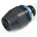 Thomas & Betts LT100P Xtra Flex® Plastic Bullet® Straight Liquidtight Connector; 1 Inch, Thermoplastic, NPT