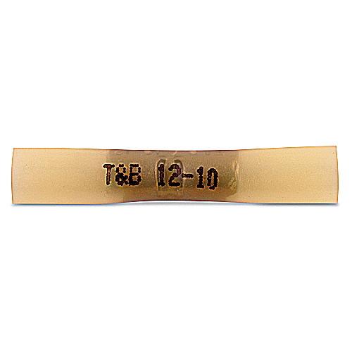 Thomas & Betts 2RCS10X RCS Series Polyolefin Insulated Butt Splice; 12-10 AWG, Yellow