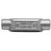 Thomas & Betts C448 Type C Conduit Body; 1-1/4 Inch, Form 8, Threaded, Gray Iron