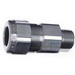 Thomas & Betts ST050-465 Star Teck® Jacketed Metal-Clad Cable Fitting; 1/2 Inch, MNPT, 0.725 - 0.885 Inch Jacket, 0.615 - 0.805 Inch Armor, Aluminum