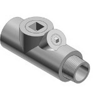 Thomas & Betts EYS21-TB Sealing Fitting; 3/4 Inch, FNPT, Ductile Iron