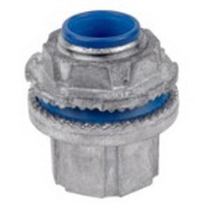Thomas & Betts H200-SC Steel City® Insulated Conduit Hub; 2 Inch, MNPT, Die-Cast Zinc